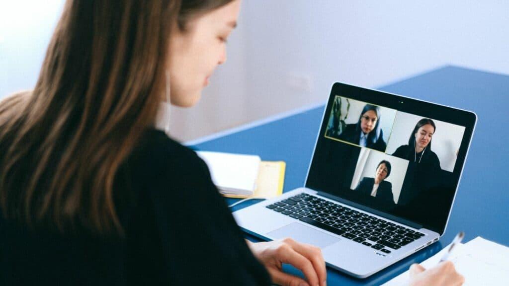 videocall di lavoro